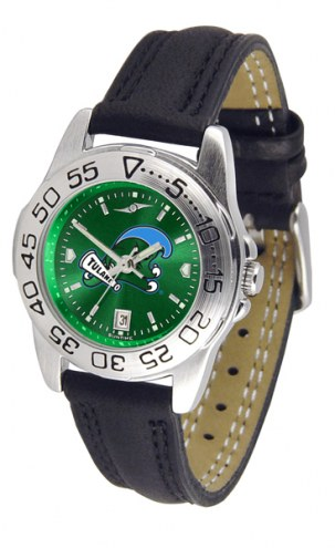 Tulane Green Wave Sport AnoChrome Women's Watch