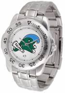 Tulane Green Wave Sport Steel Men's Watch