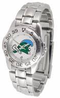 Tulane Green Wave Sport Steel Women's Watch