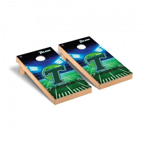 Tulane Green Wave Stadium Cornhole Game Set