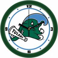 Tulane Green Wave Traditional Wall Clock