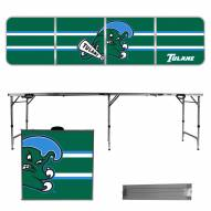 Tulane Green Wave Victory Folding Tailgate Table