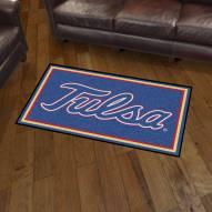 Tulsa Golden Hurricane 3' x 5' Area Rug