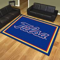 Tulsa Golden Hurricane 8' x 10' Area Rug