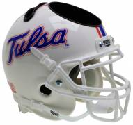 Tulsa Golden Hurricane Alternate 5 Schutt Football Helmet Desk Caddy