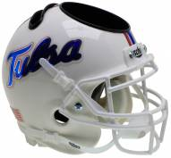 Tulsa Golden Hurricane Alternate 6 Schutt Football Helmet Desk Caddy