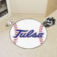 Tulsa Golden Hurricane Baseball Rug