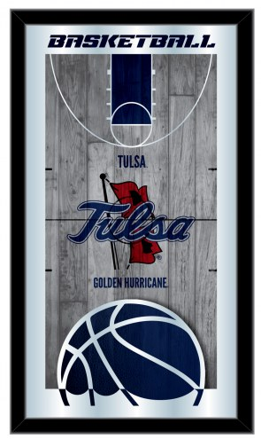 Tulsa Golden Hurricane Basketball Mirror
