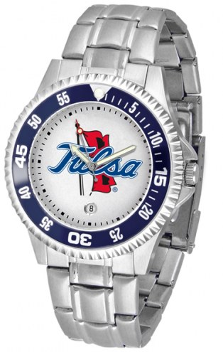 Tulsa Golden Hurricane Competitor Steel Men's Watch
