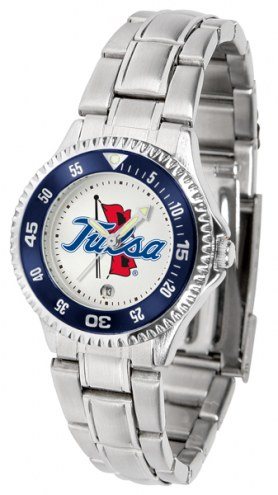 Tulsa Golden Hurricane Competitor Steel Women's Watch