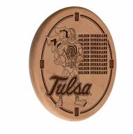 Tulsa Golden Hurricane Laser Engraved Wood Sign