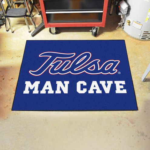 Tulsa Golden Hurricane Man Cave All-Star Rug