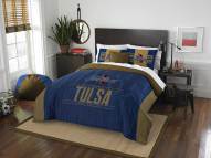 Tulsa Golden Hurricane Modern Take Full/Queen Comforter Set
