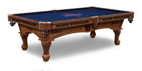 Tulsa Golden Hurricane Pool Table