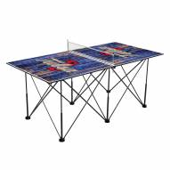 Tulsa Golden Hurricane Pop Up 6' Ping Pong Table