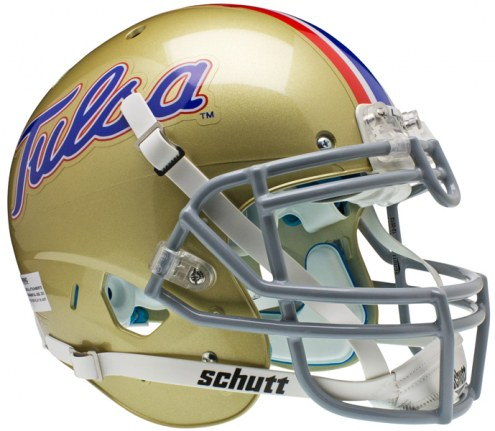 Tulsa Golden Hurricane Schutt XP Authentic Full Size Football Helmet