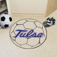 Tulsa Golden Hurricane Soccer Ball Mat