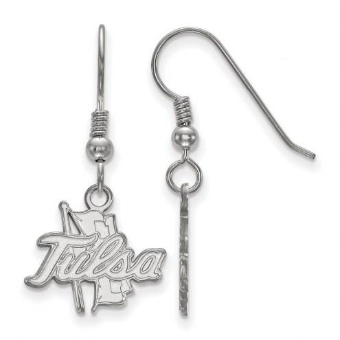 Tulsa Golden Hurricane Sterling Silver Small Dangle Earrings