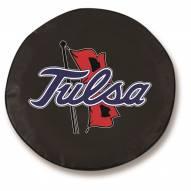 Tulsa Golden Hurricane Tire Cover