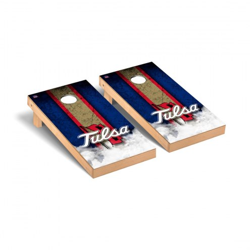 Tulsa Golden Hurricane Vintage Cornhole Game Set