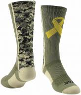 Twin City Military Ribbon Crew Socks