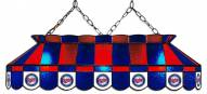 "Minnesota Twins MLB Team 40"" Rectangular Stained Glass Shade"
