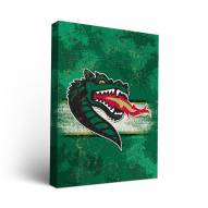 UAB Blazers Banner Canvas Wall Art