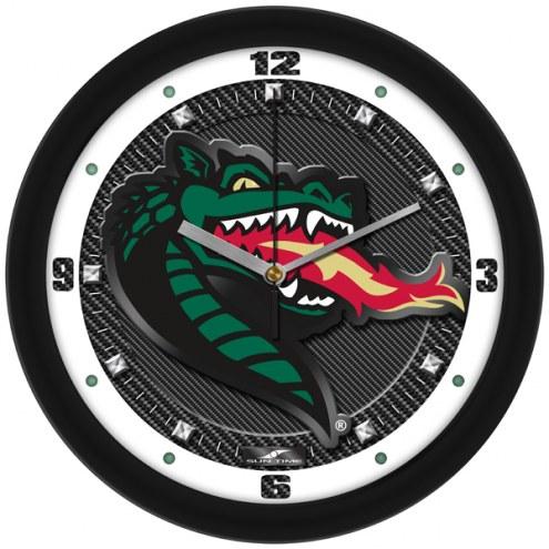 UAB Blazers Carbon Fiber Wall Clock