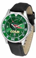 UAB Blazers Competitor AnoChrome Men's Watch - Color Bezel