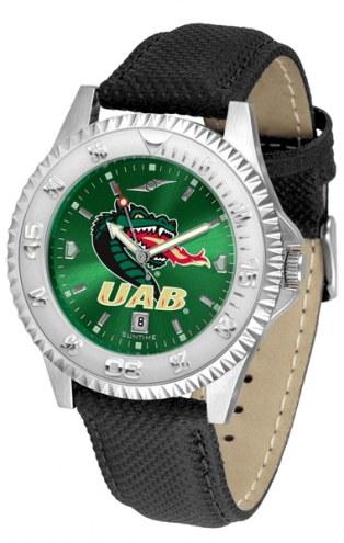 UAB Blazers Competitor AnoChrome Men's Watch
