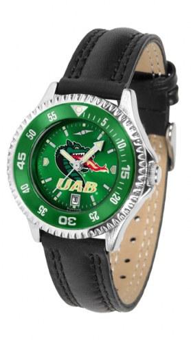 UAB Blazers Competitor AnoChrome Women's Watch - Color Bezel