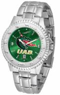 UAB Blazers Competitor Steel AnoChrome Men's Watch