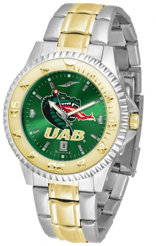 UAB Blazers Competitor Two-Tone AnoChrome Men's Watch