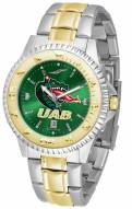 UAB Blazers Competitor Two-Tone AnoChrome Men's Watch