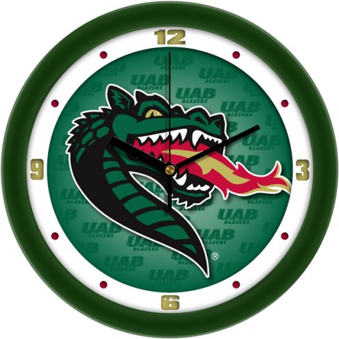 UAB Blazers Dimension Wall Clock