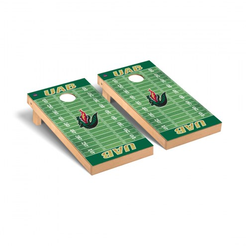 UAB Blazers Football Field Cornhole Game Set