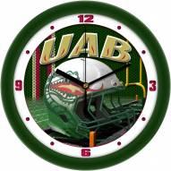 UAB Blazers Football Helmet Wall Clock
