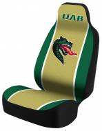 UAB Blazers Gold/Green Universal Bucket Car Seat Cover