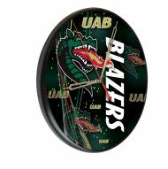 UAB Blazers Digitally Printed Wood Clock