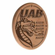 UAB Blazers Laser Engraved Wood Sign