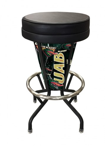 UAB Blazers Indoor Lighted Bar Stool