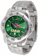 UAB Blazers Sport Steel AnoChrome Men's Watch