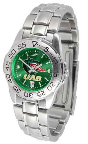 UAB Blazers Sport Steel AnoChrome Women's Watch