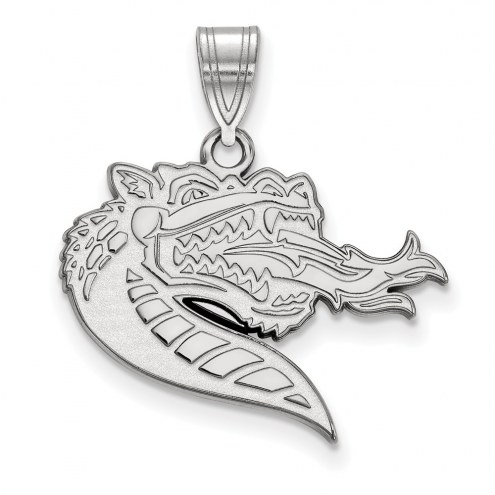 UAB Blazers Sterling Silver Large Pendant