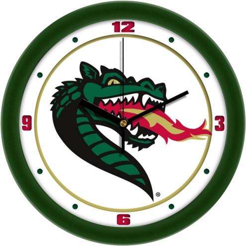 UAB Blazers Traditional Wall Clock