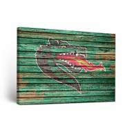 UAB Blazers Weathered Canvas Wall Art