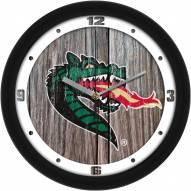 UAB Blazers Weathered Wood Wall Clock