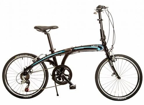 "UBIKE Blue Streak 20"" 7-Speed Folding Bike"