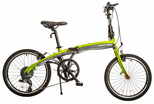"UBIKE Citadel 20"" 9-Speed Folding Bike"