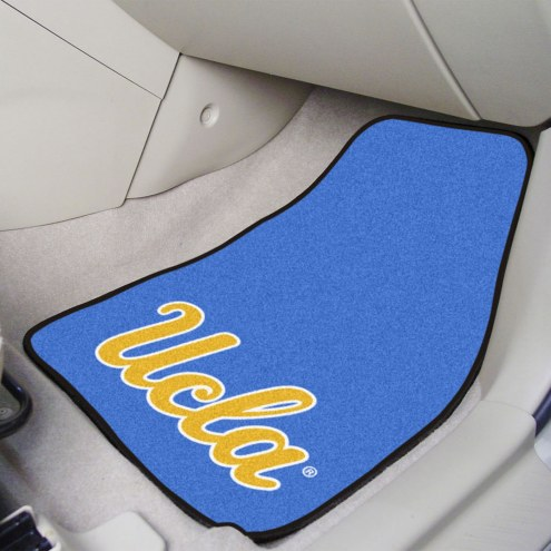 UCLA Bruins 2-Piece Carpet Car Mats